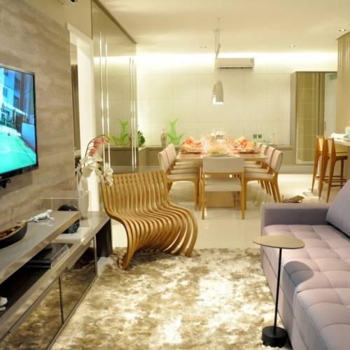 Sala de estar do Apartamento Decorado