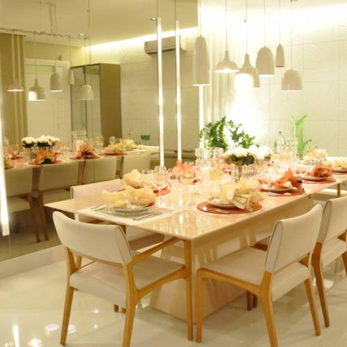 Sala de Jantar do Apartamento Decorado